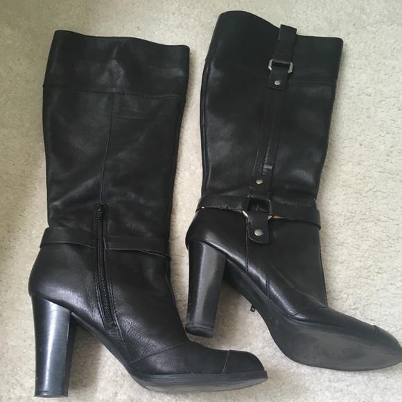 0b686492f49 Nine West (just below the knee) Boots. M 5b819ea2dcf855c43f91d678